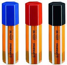 2 estuches de rotuladores Stabilo Pen 88  estuche 20 colores cada uno 8820-1