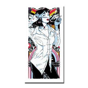Pulp Fiction Poster Classic Movie Art Silk Canvas Poster Print 13x18 24x32/'/'