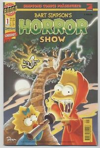 BART-SIMPSONS-HORROR-SHOW-1-DINO-VERLAG-1998-TOP-RAR