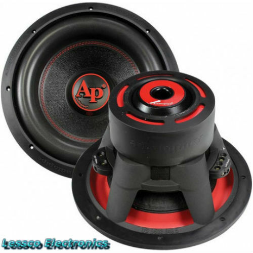 """Audiopipe TXXBDL312 12/"""" Dual 4 Ohm 1900 Watts Triple Stack Magnet Subwoofer"""