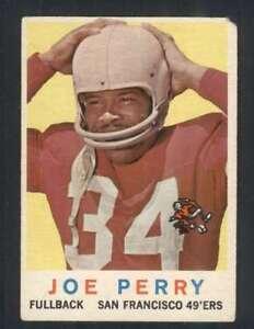 1959-Topps-80-Joe-Perry-EX-EX-49ers-62131