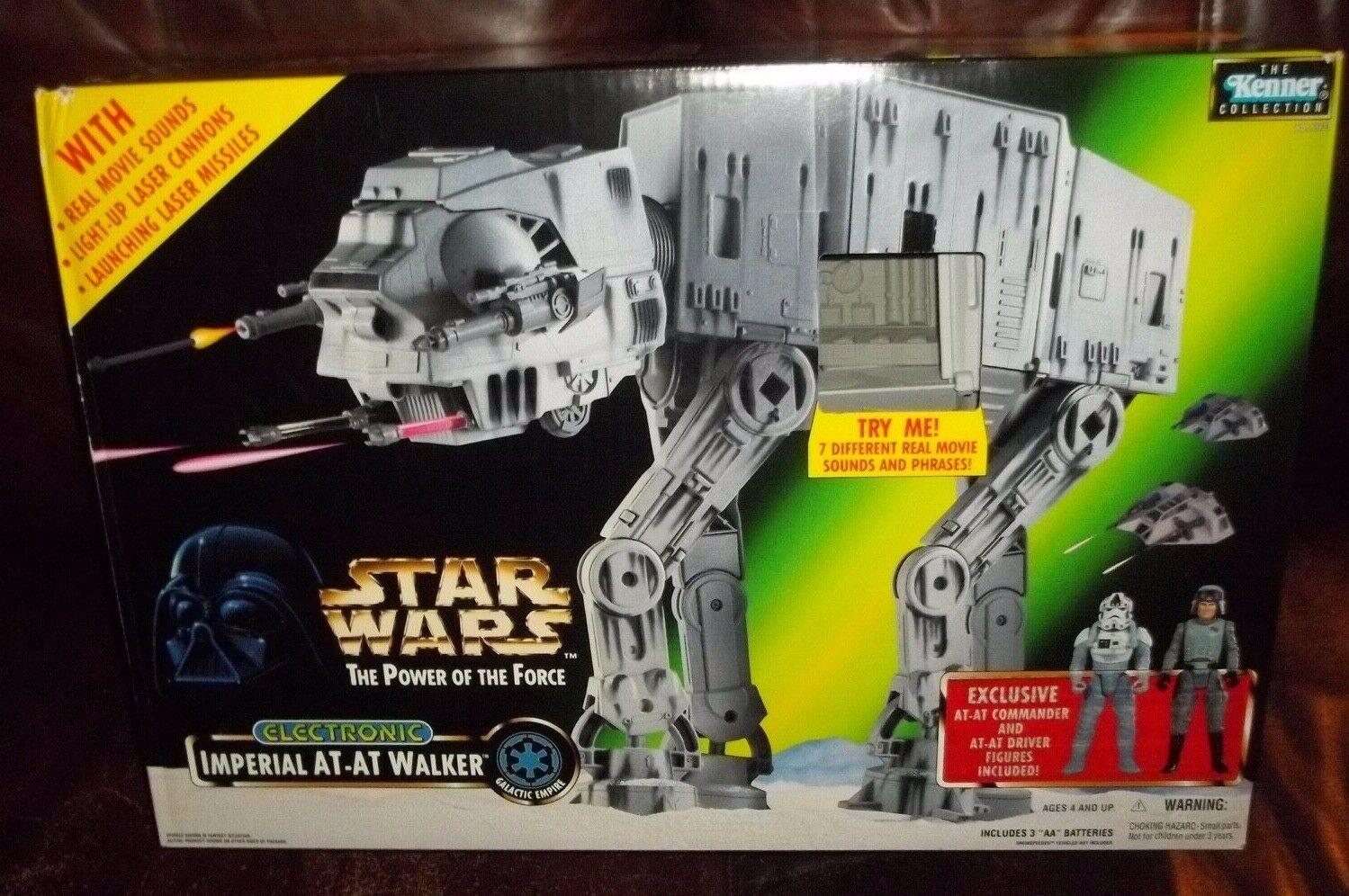 Estrella wars poder de la fuerza de energía de la fuerza imperial At-at Walker Conjunto de Juego Con 2 figuras