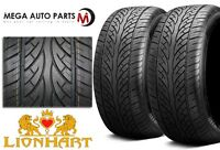 2 X lionhart [lh-eight] 295/25zr22 97w High Performance Tires on sale