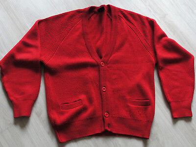 Franco Uomo Giacca In Maglia Vintage 80er Giacca Mis. 48 Ben Conservati Giacca Gilet A Maglia-mostra Il Titolo Originale