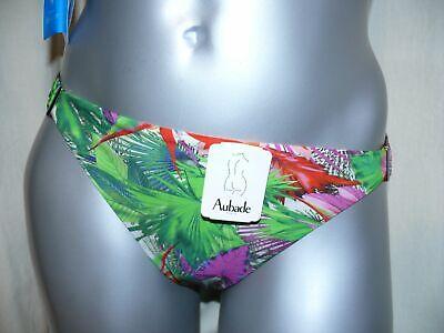 AUBADE Schalen Bikini Top FLEUR TROPICALE paon Tropenblumenprint NEU