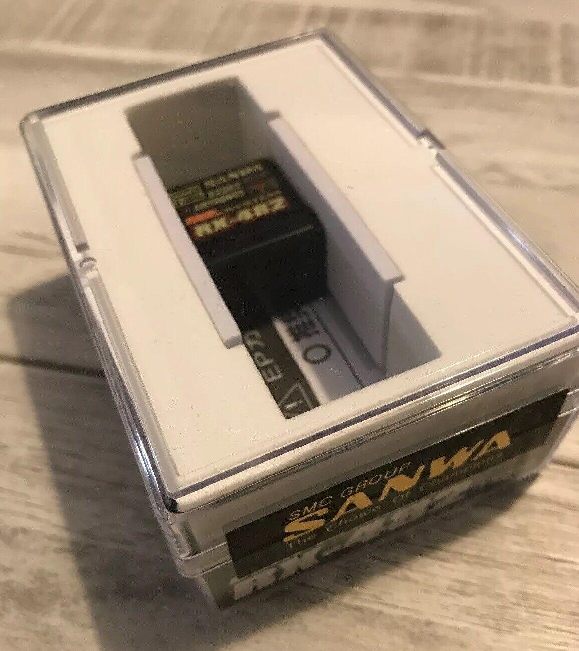 vendita online Sanwa     Airtronics Receiver  RX-482 2.4GHz 4-Channel FHSS-4 SSL Telemetry  stile classico