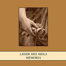 Leger del Heils-MEMORIA CD Death In June Forseti orplid sole Hagal jännerwein