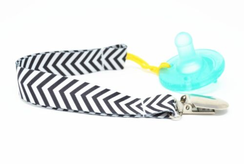 Teething toy holder Dummy Soother Strap Holder Baby Infant Pacifier Clips