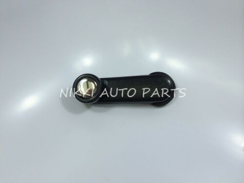 Black Window Crank Handle Lever with Alum Cover Right or Left