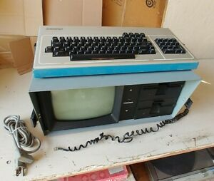 Vintage 80's KAYPRO II 2 Portable Computer As Is For Parts Turns on But Nothing