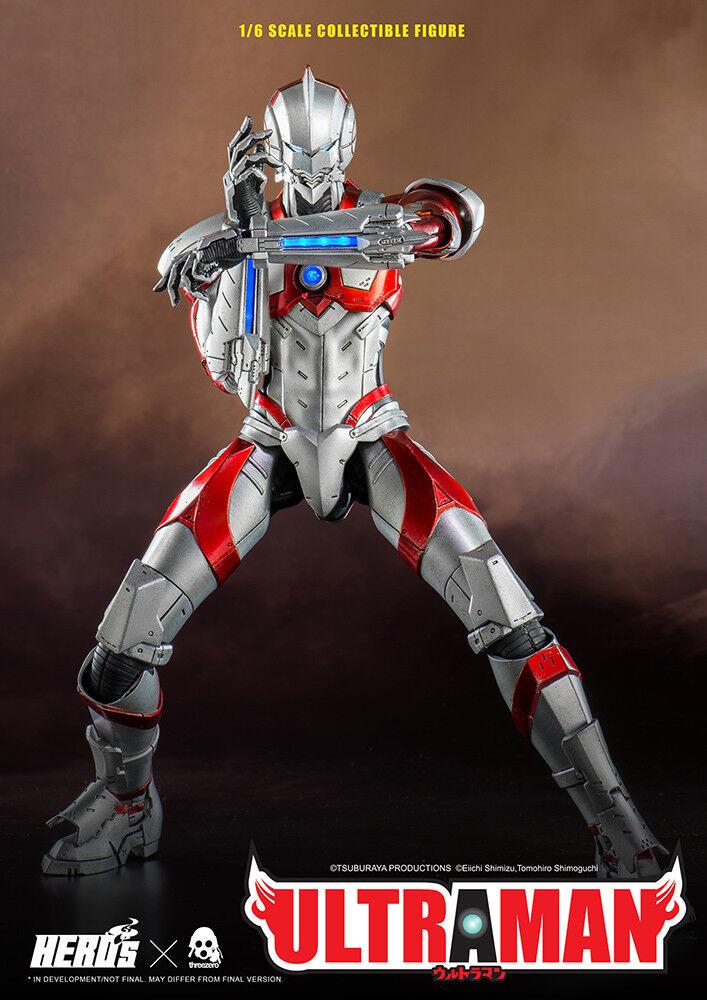 Ultraman 12' Ultraman Suit 1 6 Scale Action Figure THREEZERO