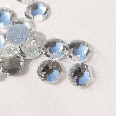 Beliebte Marke 210 Strass Aufkleber Glanz Weiß Brillianten Kristall 10 Mm Dekorationen Creativsets