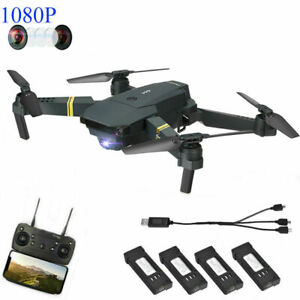 Cameras & Photo E58 Drone X Pro Foldable 2.4ghz Quadcopter Wifi 1080p Camera 4 Pcs Batteries Low Price