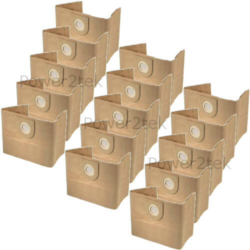 15 x 1S hoover poussière sacs pour vax P2100 pata 4000 power 7 uk stock
