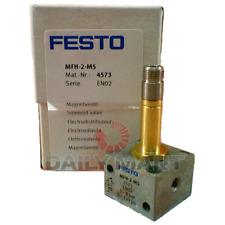New In Box Festo Mfh 2 M5 4573 Solenoid Valve