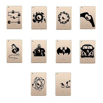 New Cartoon Cute Vinyl Decal Sticker Skin for iPad Pro Mini Air
