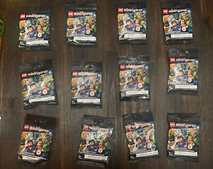 Lot of 12 Sealed LEGO Minifigures 71026 DC Comics Unsearched Blind Bags Sealed
