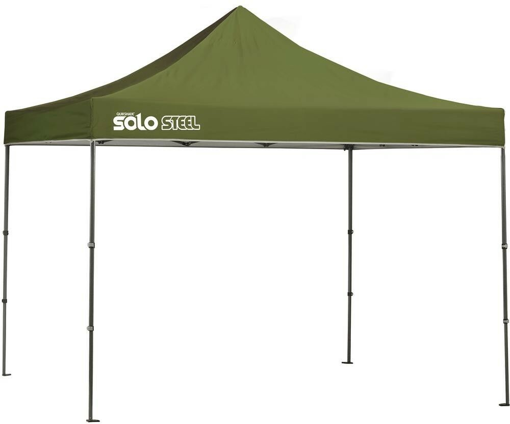 Canopy 10 ft. x 10 ft. Olive Finish Straight Trapezoidal Leg with Storage Bag