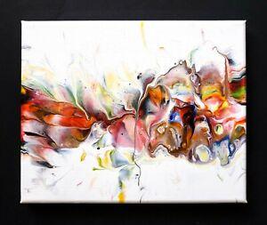 ACRYLIC-PAINTING-ORIGINAL-ARTWORK-8-034-x-10-034-CANVAS-ABSTRACT-ART-HOME-WALL-DECOR