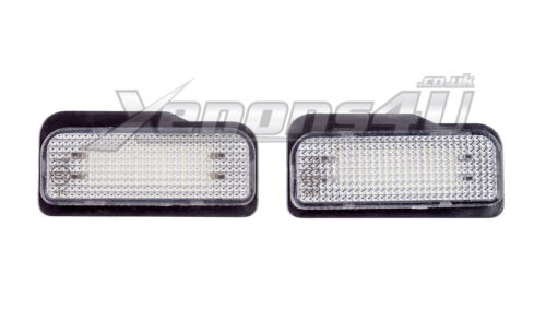 Mercedes Benz R171 W211 W203 W219 LED License Number Plate Light Bulbs Lamps