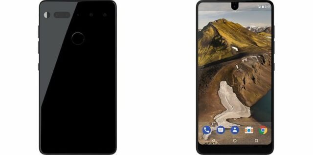 Essential - 128GB Black 128GB  Unlocked Smartphone C