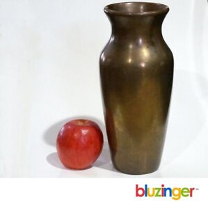 Scarce Antique CLEWELL  Copper Clad Arts & Crafts Art Pottery Vase