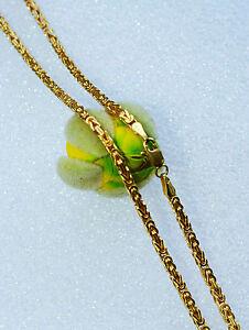 Goldkette herren 750  KÖNIGSKETTE *eckig* 750 GOLD 60,5 cm HALSKETTE HERREN GOLDKETTE ...