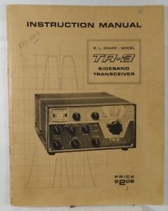 RL-Drake-TR-3-Original-Instruction-Manual-in-Very-Good-Condition