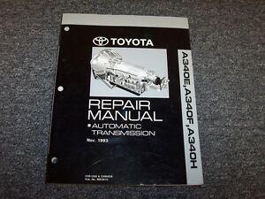 1999 2000 2001 2002 toyota tacoma a340f transmission service repair rh ebay com 2017 Tacoma Manual Tacoma 6-Speed