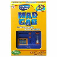 Mad Gab Travel Card Game By Mattel