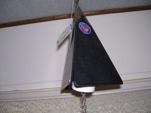 "8/"" x 5/"" Rustic Triangular Handmade in Montana US Metal Windchimes Made To Last"