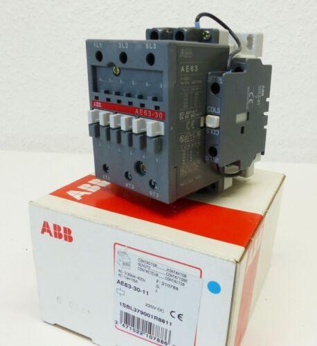 unused//OVP CAL5-11 ABB AE63-30-11 1SBL379001R8811 Schütz 220VDC CDL5-01