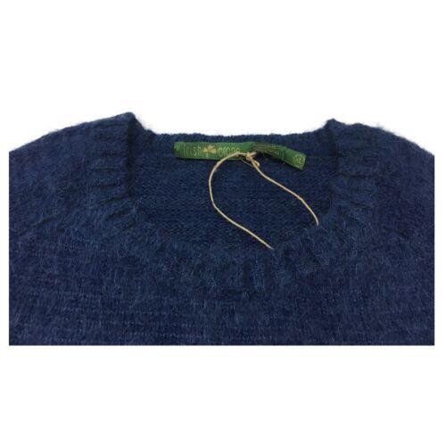 fabriquée homme Chemise 50 laine col pour à couleur de rond bleu clair irlandaise Italie en qr57qwvB