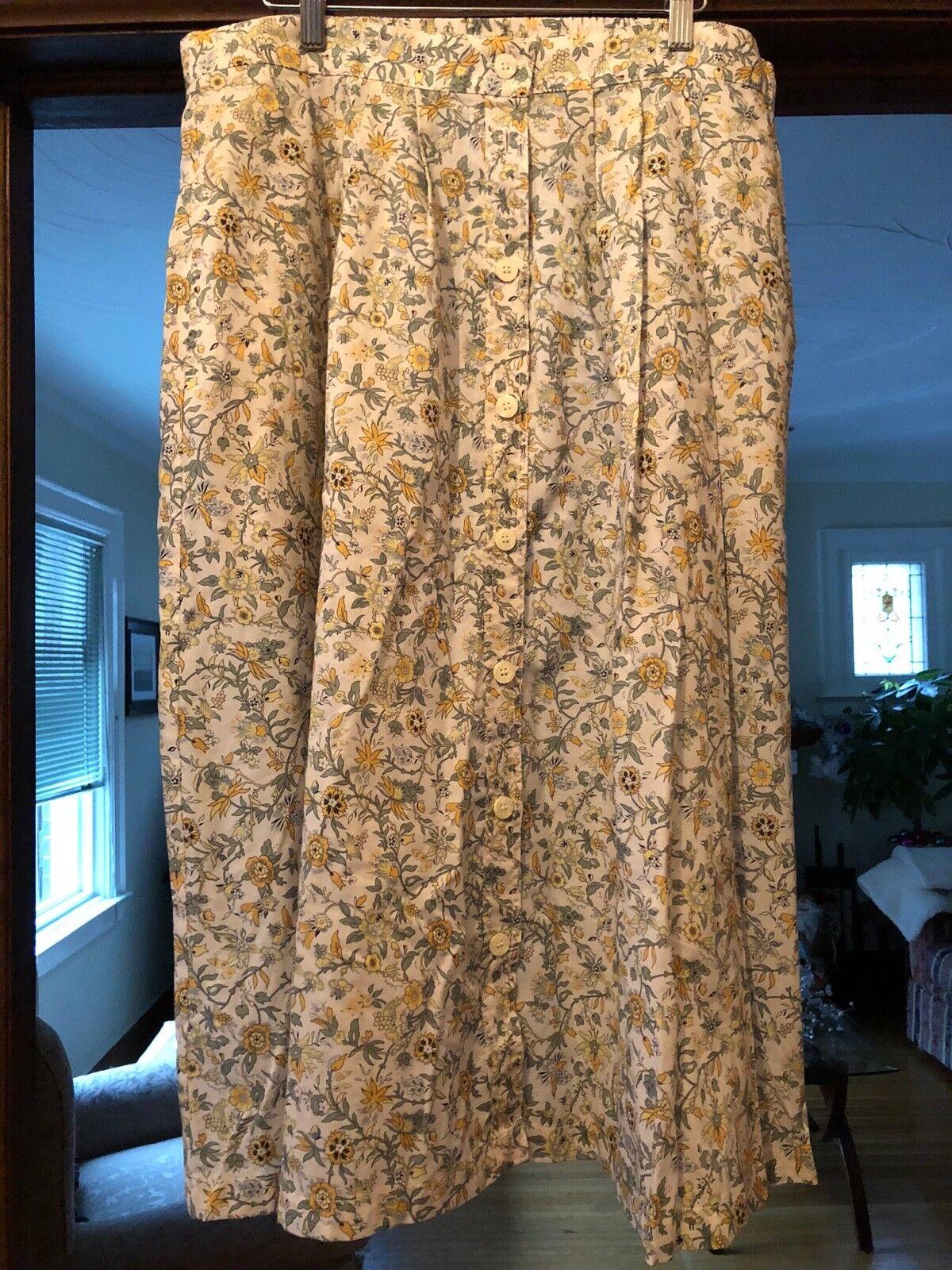 Liberty of London Tilley Endurables Ladies Skirt Sz XL