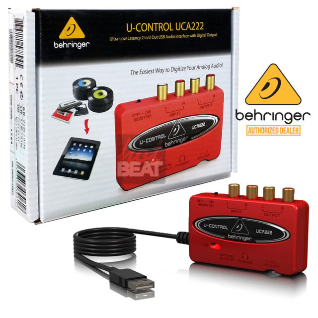 Behringer u control uca200 driver download