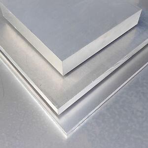 aluminium platte 800x300x20mm tafel almg3 alu zuschnitt. Black Bedroom Furniture Sets. Home Design Ideas