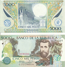 Kolumbien / Colombia - 5000 Pesos 2013 UNC - Pick 452