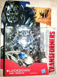 Transformers Age of Extinction AOE Deluxe Lockdown MOSC