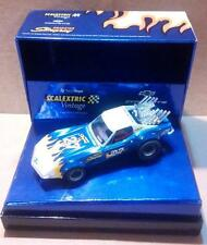 Chevrolet Corvette Dragster Vintage Exin Triang Scalextric SCX Cartrix Reprotec