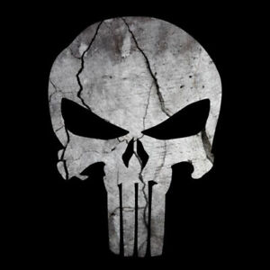 PUNISHER SKULL AMERICAN FLAG STICKER DECAL SNIPER MADE IN USA BUY 2 GET 3RD FREE