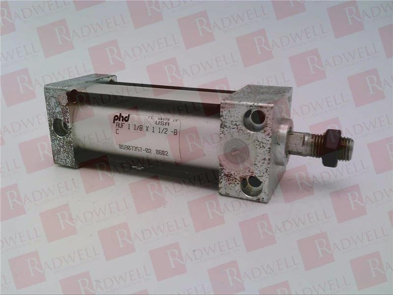 PHD INC AVF-1-1 8X1-1 2-B   AVF118X112B (USED TESTED CLEANED)