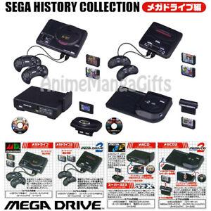 TAKARA TOMY Sega History Collection Mega Drive All 4 types set JAPAN OFFICIAL