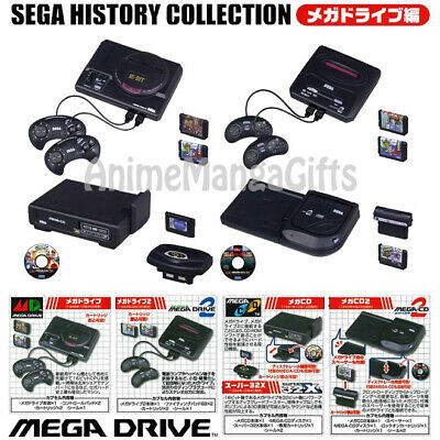 SEGA HISTORY COLLECTION MEGA DRIVE SCALE 1:6 (COMPLETE 4 TYPE) TAKARA TOMY  JAPAN | eBay