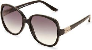 Kangol KS 6009-1 Women's Oversized Sunglasses Black Gradient Lenses UK New