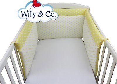 Paracolpi Willy & Co Giallo A Pois Su Tre Lati Sicurezza Per Infanzia