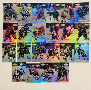 22 1999-00 Topps Gold Label NHL Hockey Star HOF Lot Patrcik Roy Bourque NM