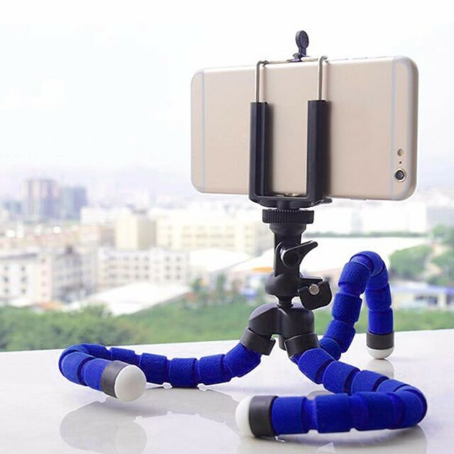 Flexible Mini Octopus Tripod Bracket Holder Mount Clip for Apple iPhone Samsung