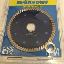 "Professional 4.5"" Wet / Dry Cutting Durable Diamond Blade Round Disc Saw [1050]"