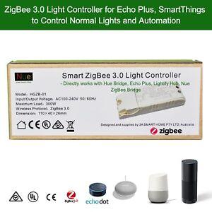 Echo-Plus-Philips-Hue-Bridge-Compatible-Smart-ZigBee-3-Light-Switch-Controller