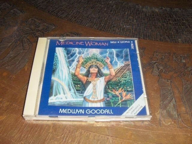 CD - MEDICINE WOMAN - MEDWYN GOODALL: CD - MEDICINE WOMAN -